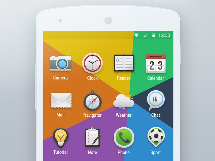 Icons for Android Launcher by Dasha for Yalantis