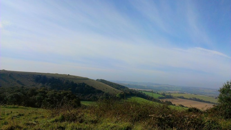 Old Winchester Hill, Hampshire UK