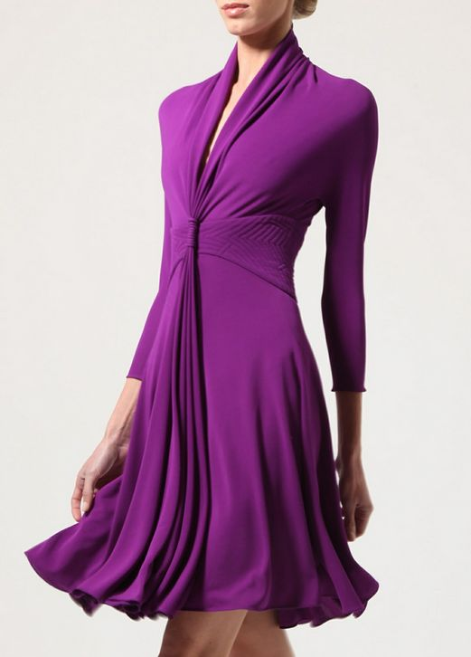 Chado Ralph Rucci Resort 2013...perfect color, perfect length, perfect neckline...must buy!
