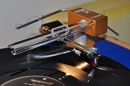 DIY Linear tracking tonearm