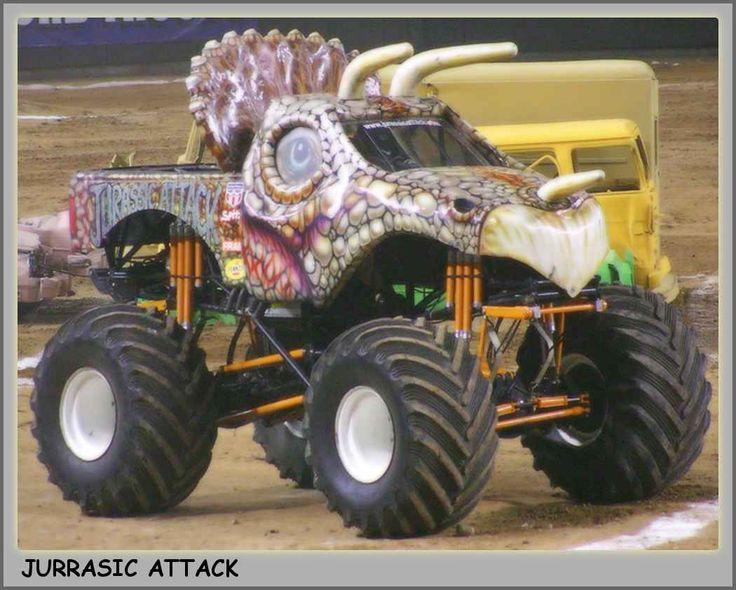 Monster Truck Picture - Jurrasic Attack Monster Truck