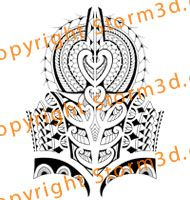 polynesian-tribal-tattoo-design-spearheads-shoulders