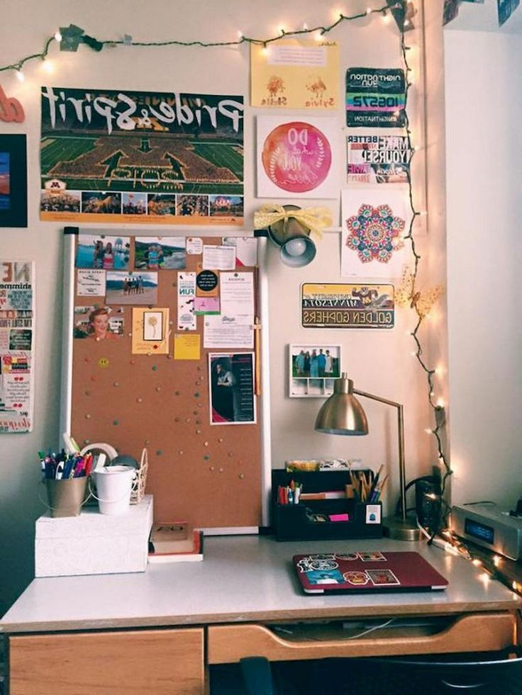 74+ Günstige Cute Dorm Room Deko-Ideen mit kleinem Budget