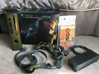 Microsoft Xbox 360 Halo 3 Special Edition 20GB Green & Gold Console Complete