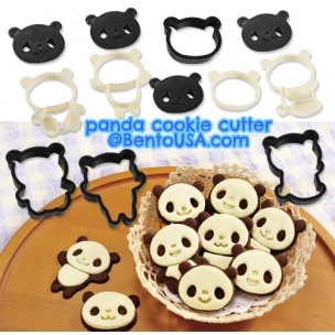 Panda Cookie Cutter. This website has tons of cute bento stuff!
