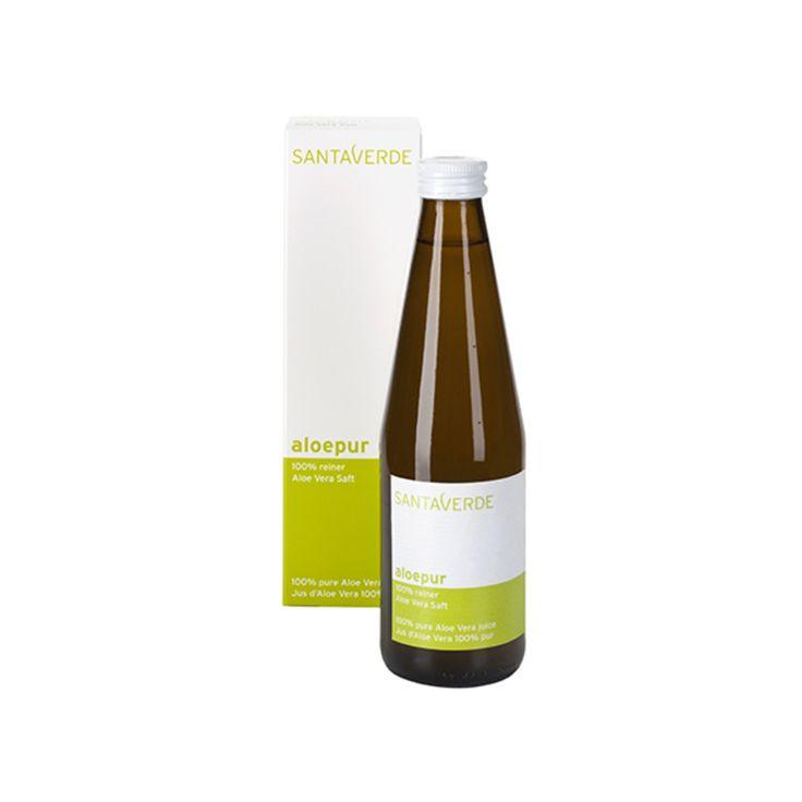 100 % натуральный питьевой сок алоэ вера Santaverde
