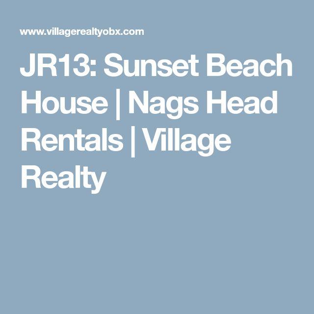 JR13: Sunset Beach House | Nags Head Rentals | Village Realty