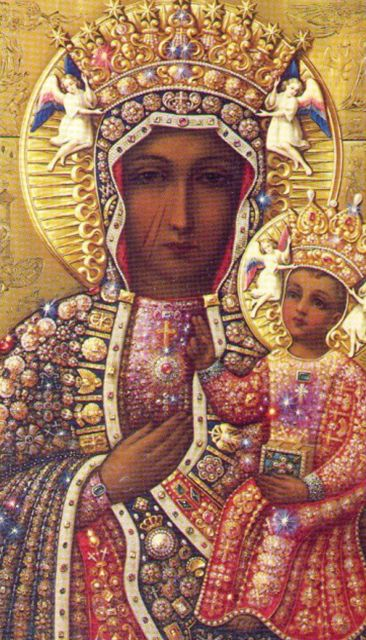 Totus Tuus / Our Lady of Czestochowa Prayer Card