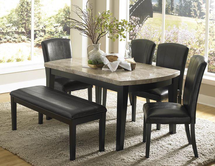 die besten 25+ granite dining table ideen auf pinterest, Esszimmer dekoo