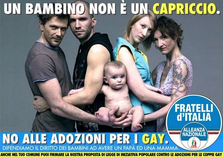 """L'epic fail di Fratelli d'Italia e del """"ragazzo"""" che usa la foto di Toscani"""