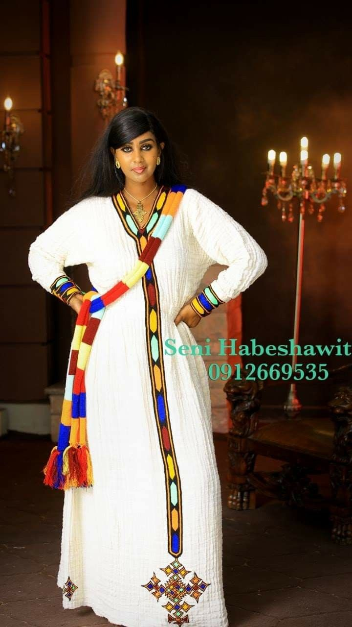By B Hints || Ethiopian Habesha Dress 2019