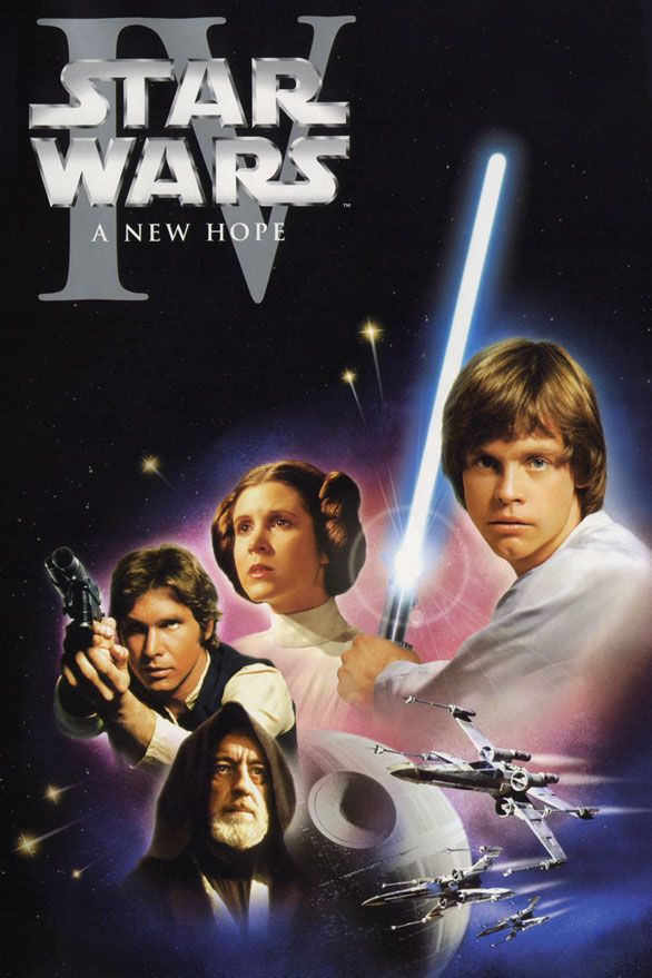 2000 movies | Star Wars Movie Poster - 2000 and Before: