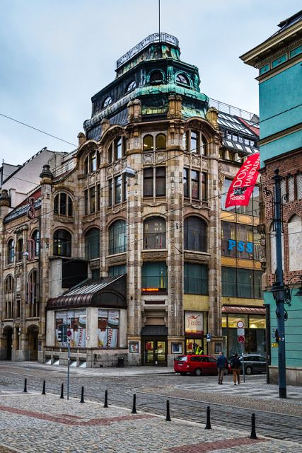 An old department store, Wroclaw (Breslau), Poland