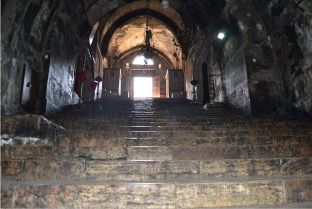 Ο τάφος της Παναγιάς στη Γεσθημανή