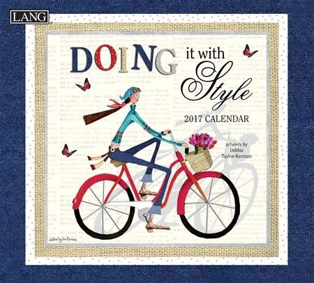Doing It With Style 2017 Wall Calendar , 17991001980 | Lang