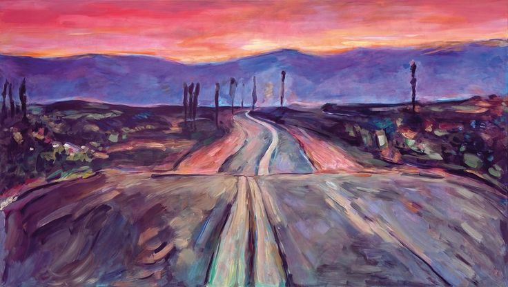 """In the introduction to a new exhibition of his landscapes opening Saturday at London's Halcyon Gallery, the recent Nobel laureate says, """"The idea was to create pictures that would not be misinterpreted or misunderstood by me or anybody else."""""""