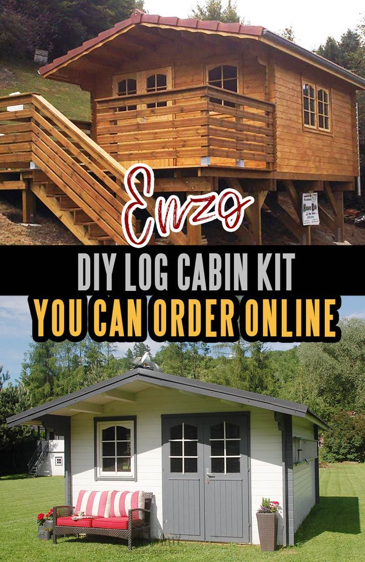 Prefab Tiny Houses You Can Order Online Right Now Craft Mart Pre Fab Tiny House Log Cabin Kits Diy Home Decor Projects
