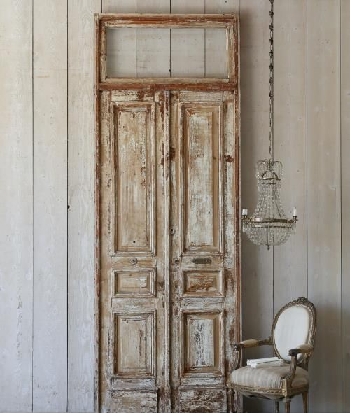 Heavily Distressed Vintage Doors & 25 best Antique Shutters \u0026 Doors images on Pinterest | Shutter doors ...