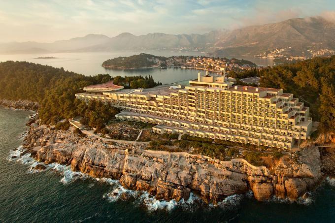 Jižní Dalmácie,  Hotel Croatia - Cavtat http://www.hrvaska.net/cz/hotely/cavtat/hotel-croatia-cavtat.htm