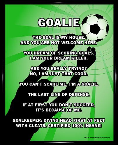 Goalie quotes - soccer