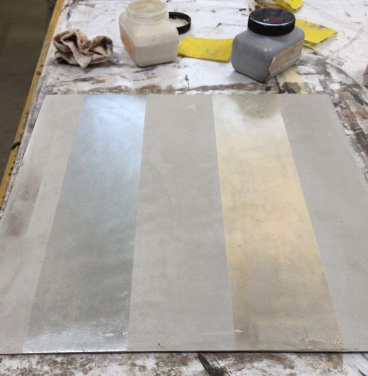 workshop kalkputz mit metall-lasuren