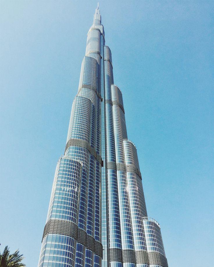 The famous Burj Khalifa, Dubai, UAE #evishaindubai