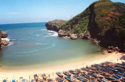 Baron Beach, Yogyakarta - Indonesia