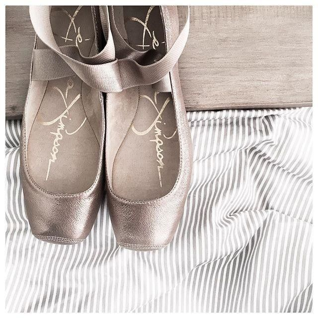 This ultra-feminine style looks great with jeans and dresses alike. The Mandalaye elastic ballet flats by Jessica Simpson. | Imported | Suede/leather upper | Round closed-toe elastic ballet flats with