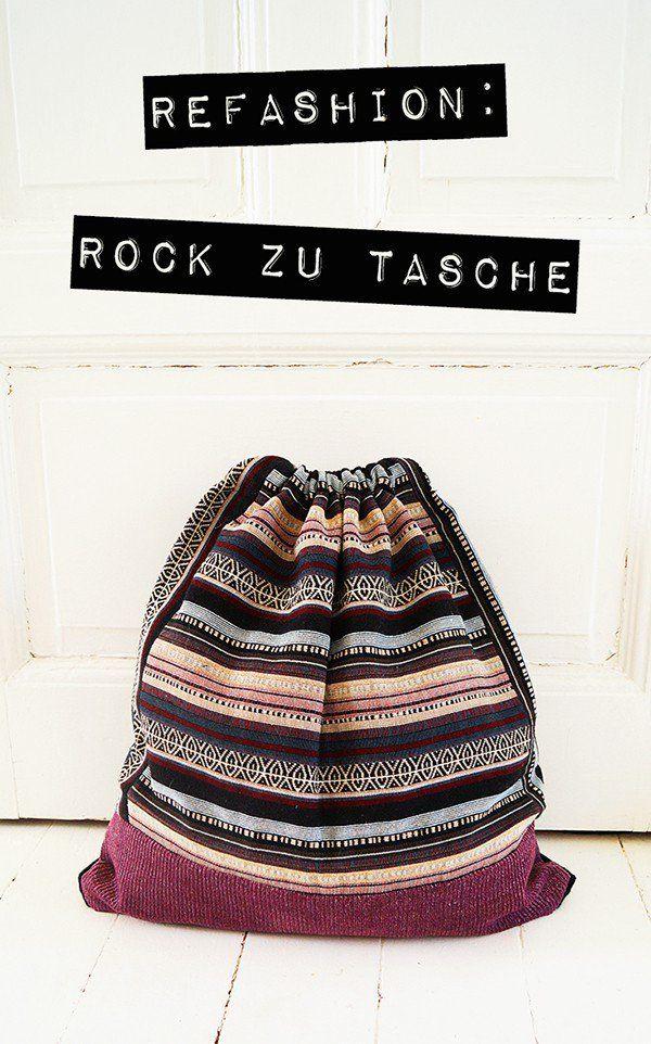Rock zu Tasche