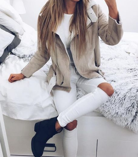 currently craving a good shearling jacket