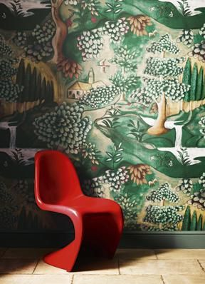 Zoffany wallpaper. Top 10 list on the blog today.