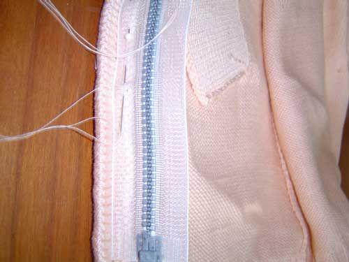 Breilessen - Technieklessen - Hoe moet ik een ritssluiting inzetten - breien op de breimachine