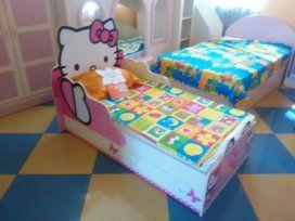 """""""Hello Kitty"""" - главный персонаж детской комнаты. Мебель сделана из высокоэкологичных материалов. Заказывайте с доставкой сегодня"""
