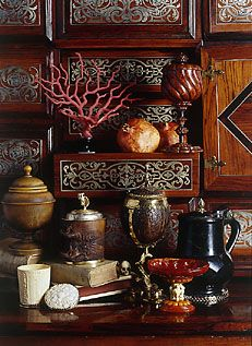 Cabinet of curiositiesCabinets Of Curio, Still Life, Wunderkammern, Rich Colors, Traditional Cabinets