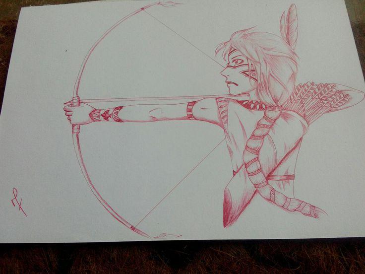 native indian archer