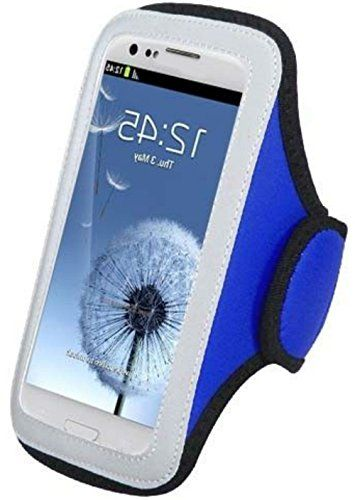 "myLife Silver, Blue, and Black {Rain Resistant Velcro Secure Running Armband} Dual-Fit Jogging Arm Strap Holder for Sony Xperia Z2 and Z3 ""All Ports Accessible"" myLife Brand Products http://www.amazon.com/dp/B00UMC1U0K/ref=cm_sw_r_pi_dp_Jecjvb0X84KCT"