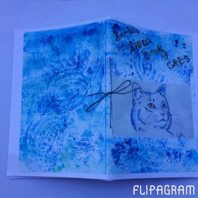 ▶ Play #flipagram Video This is a little handmade booklet I made from my pictures of cats that I've drawn over the years @Lambi Lentakis - http://flipagram.com/f/MJlnSJR4KO