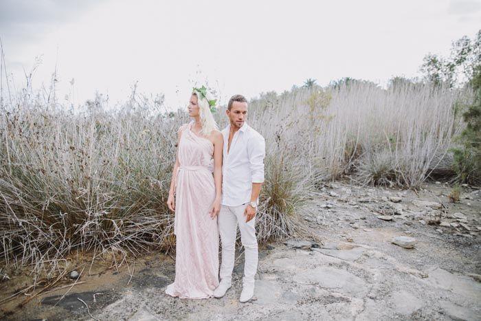 A beautiful couple in Gran Canaria | photo by www.faistenberger.com / dress: www.whatever-eye.com by stefanie grißmann | Roland Faistenberger Hochzeitsfotografie Wien | wedding photographer Austria