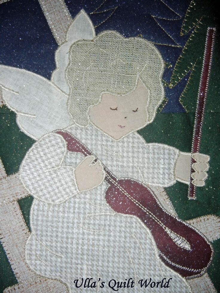 I have designed this Angel quilt wall hanging. Just click the photo and it will become bigger.   Olen suunnitellut tämän enkeli tilkkutyö s...