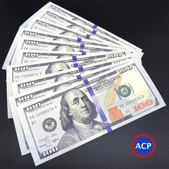 Fake 1000 Dollar Bill Printable