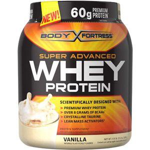 Body Fortress Super Advanced Whey Protein Powder Vanilla 1.95 LB