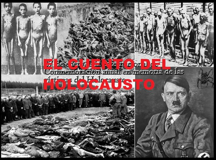 ☯El Cuento Del HOLOCAUSTO  LA GRAN MENTIRA DEL SIGLO XX 6 Millones De Ju...