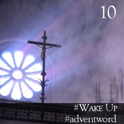 #AdventWord #WakeUp || Wake up and watch! That is the message of Advent. The effect of Advent on us should be like the blast of a cold shower after we've gotten out of bed, sleepy and bleary-eyed. Wake up! Br. Geoffrey Tristram || @SSJEWord: Post prayerful images with the #adventword hashtag on Twitter, Facebook and Instagram to create a Global Advent Calendar. Check out www.aco.org/adventword.cfm