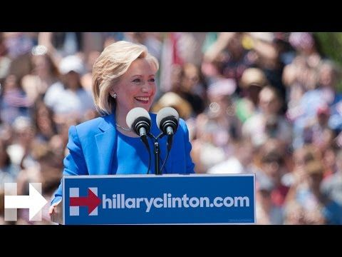 """""""We need more love and kindness"""" Hillary Clinton victory speech in South Carolina 