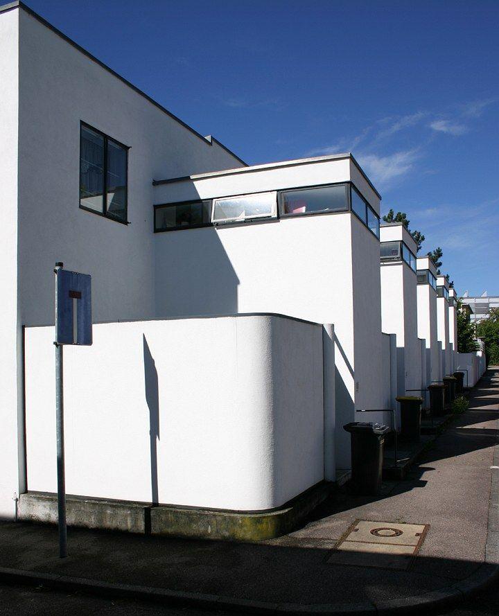 Weissenhof Estate Stuttgart House 5-9 by Jacobus Johannes Pieter Oud