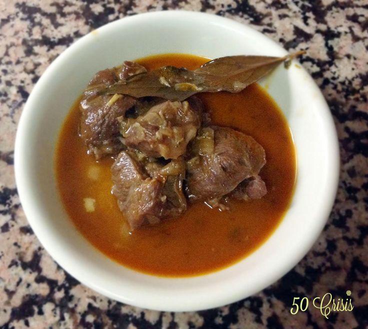 #Cocina conmigo: CARRILLADA DE CERDO AL VINO TINTO