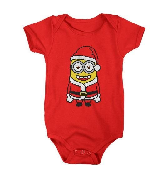 Santa Minion Shirt Adult & Available in Youth Sizes