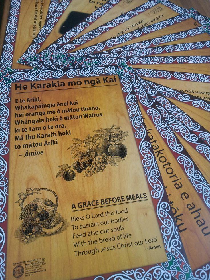 Free karakia posters