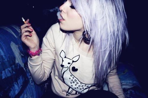 purple hair and deer sweatshirt: Hair Ideas, Purple Hair, Color Hair, Hair Doe, Hairs, Hair Color, Scene Girls, Lilacs Hair, Girls Hair