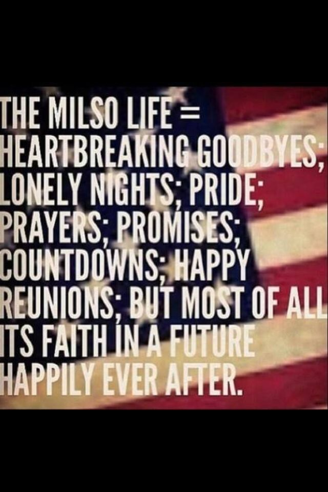Absolutely loved this quote #militarylove #milsoquotes # ...